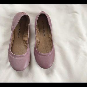 Pink Lucky Brand Ballet Flats